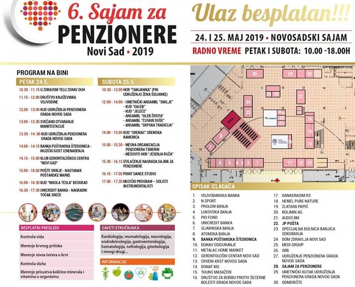 Sajam za penzionere program 2152019